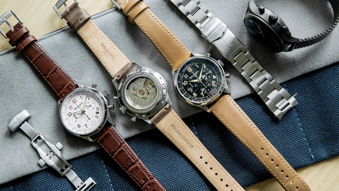 Family Portrait of our Automatic Chronograph Collection