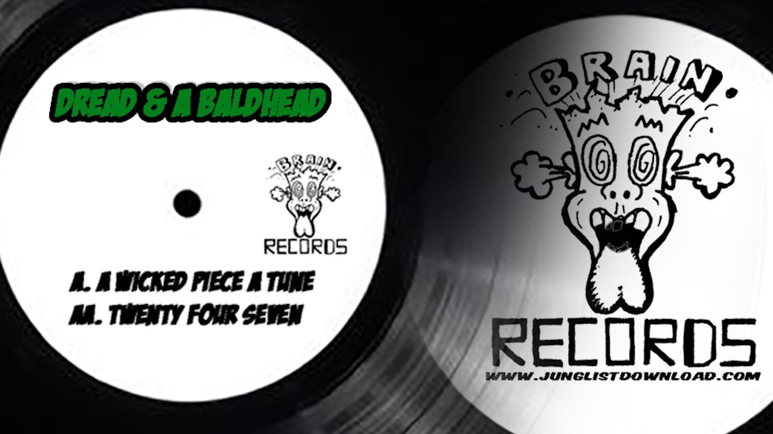 Vinyl Re Pressing of Our Junglist / Drum n bass Single.  Dread & a Baldhead 1. WICKED PIECE A TUNE 2. Twenty Four Seven