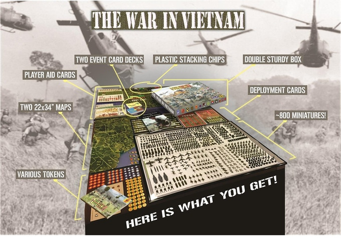 The War in Vietnam like we've never seen it before!