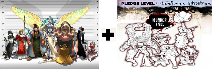 Refugees of Religion and Murder Inc. Pledge - £100