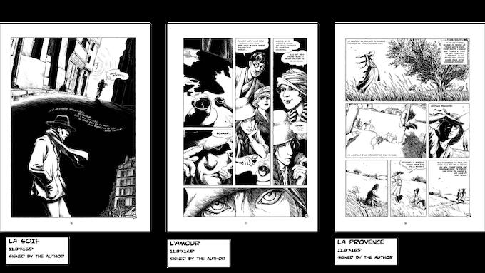 Jeanne & Modigliani: Paris in the Dark - Graphic Novel ...