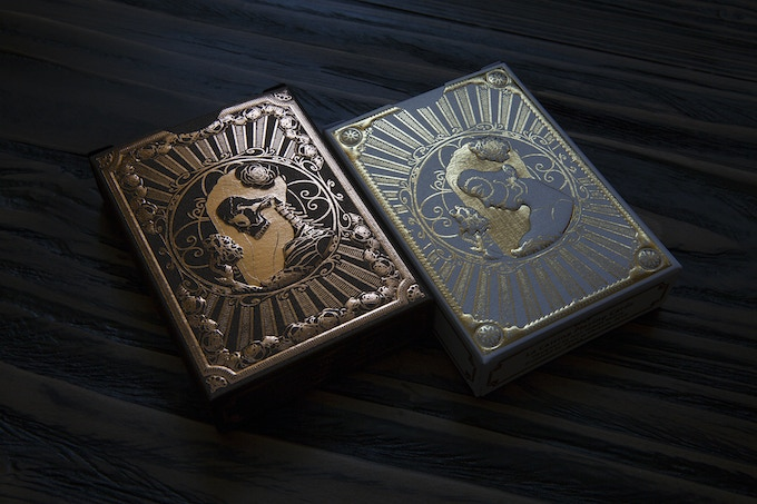 Copper foil used for Muertas deck