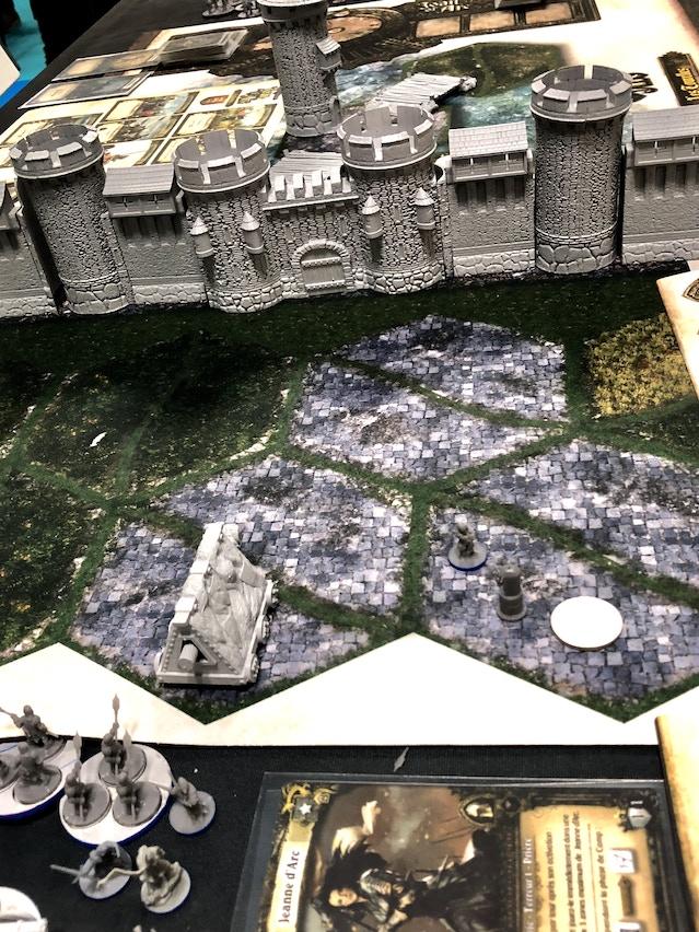 Close-up of the Tourelles Siege scenario