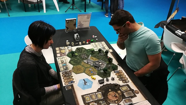 The Sword of Fierbois was a very popular scenario too. That's the scenario we offered you last week