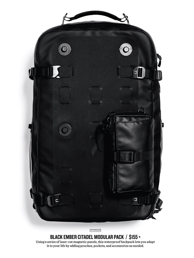 BLACK EMBER MODULAR BACKPACKS - THE CITADEL COLLECTION by Black ... 5e35585c66e04