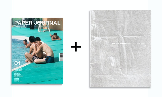 Book Reward: A copy of Paper Journal 01, as well as Phoebe Kiely's forthcoming book, They were my landscape (featured in Paper Journal 01), published by MACK this May (2018).