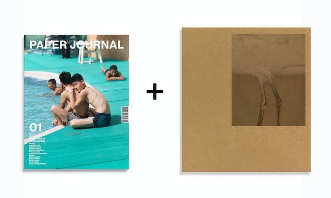 Book Reward: A copy of Paper Journal 01, as well as Daniel Shea's 43-35 10th Street, published by Kodoji Press (2018).
