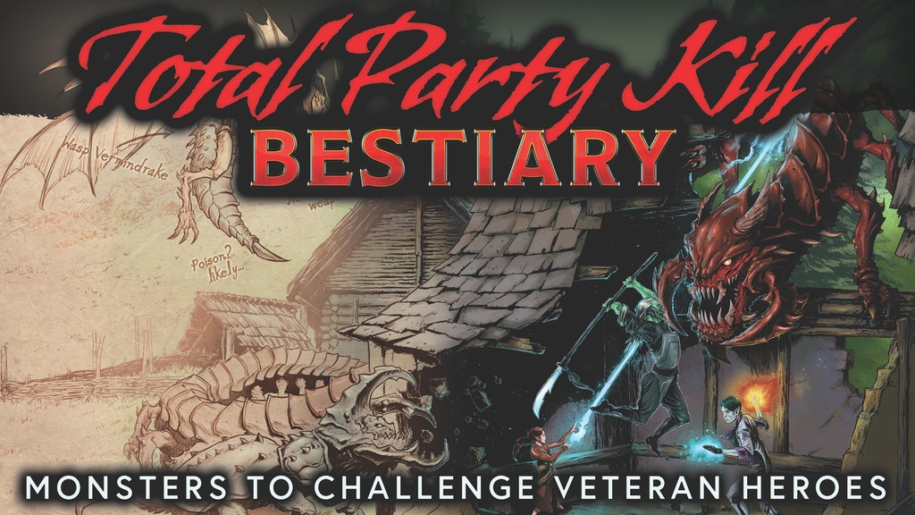 Total Party Kill Bestiary: 5E Monsters for Veteran Heroes project video thumbnail