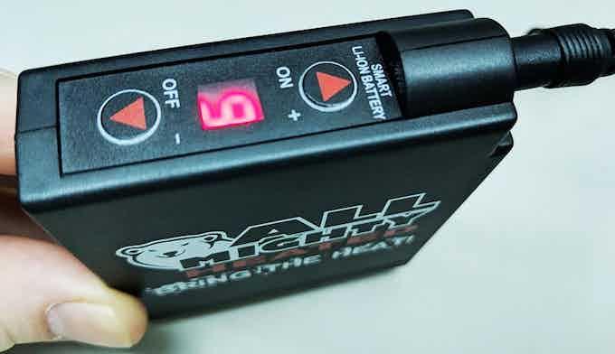 5,200mAh Battery w/ 6-Level Heat Control