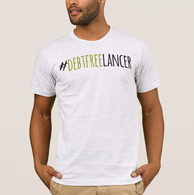 Debtfreelancers™:  skilled do-gooders who freelance for a social cause and a debt-free life.