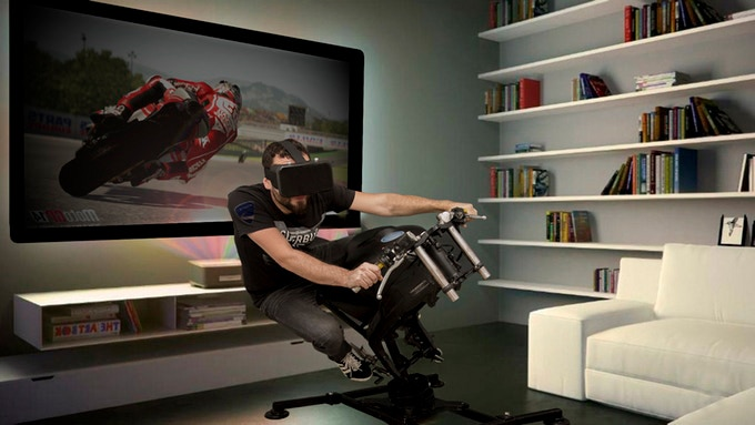 LeanGP® - First affordable and foldable motorcycle simulator