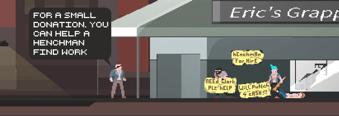 Will you help reduce henchman unemployment? Support this kickstarter today!