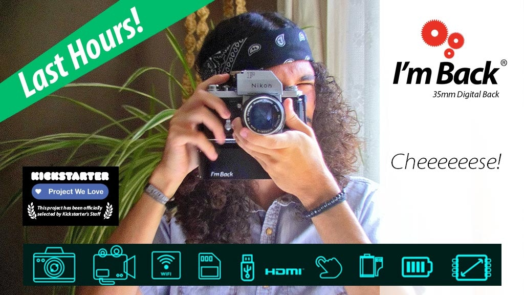 Make digital photos and videos with your old analog camera! project video thumbnail