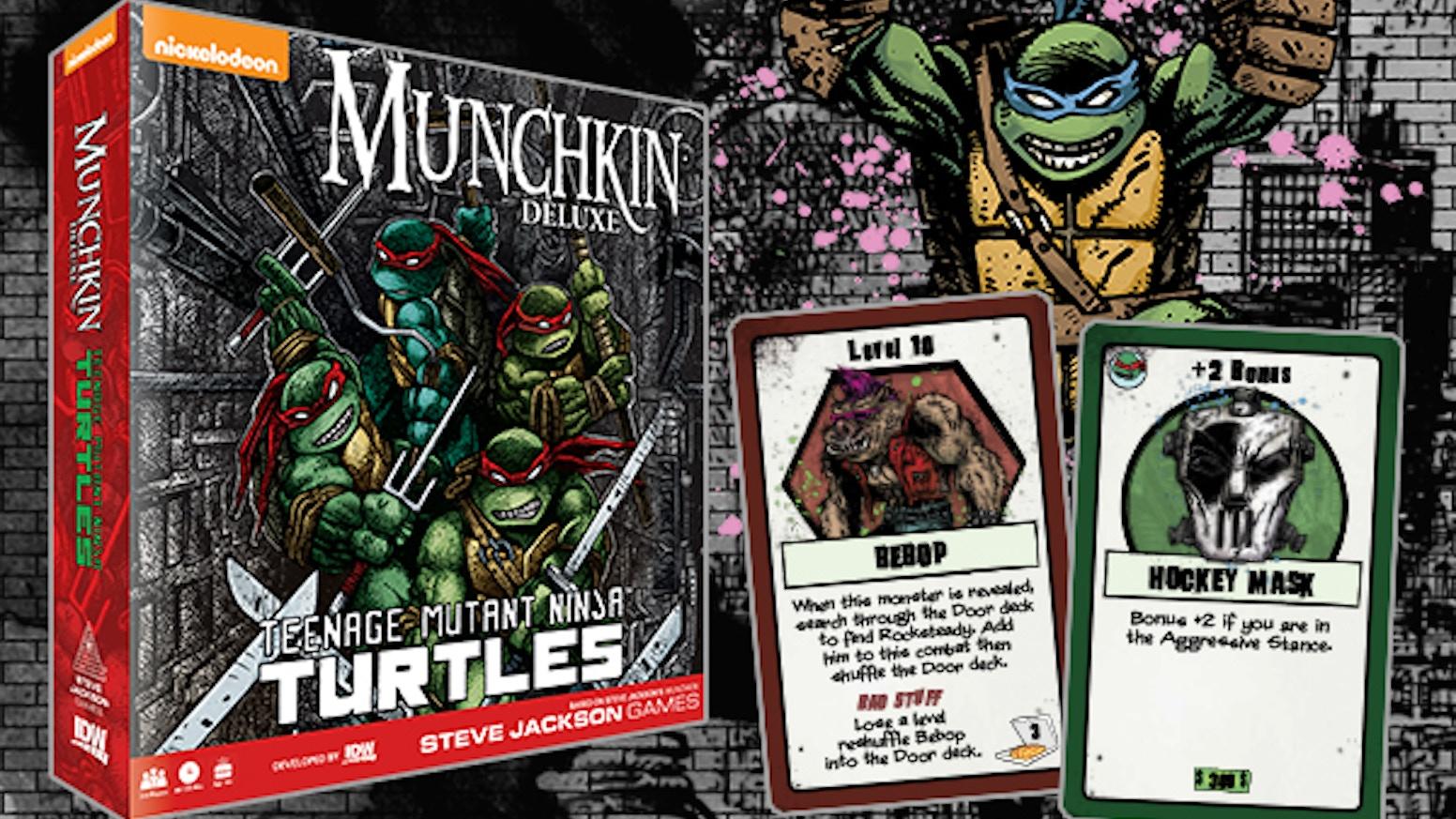 Munchkin Teenage Mutant Ninja Turtles By Idw Games Kickstarter