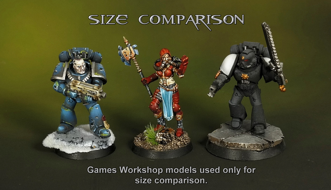 Games Workshop models shown only for scale purposes, no association is intended.