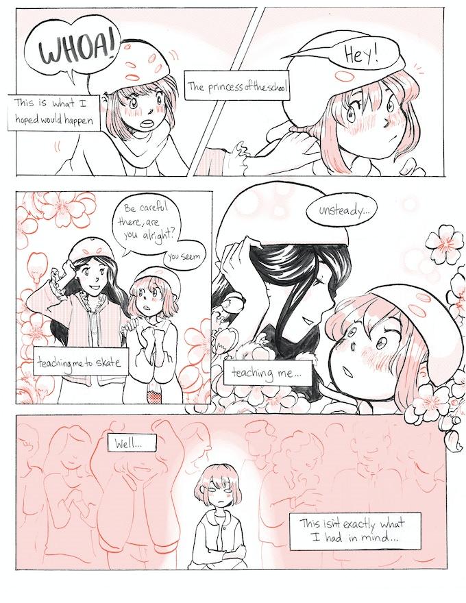 Page From Sk8er Grrl