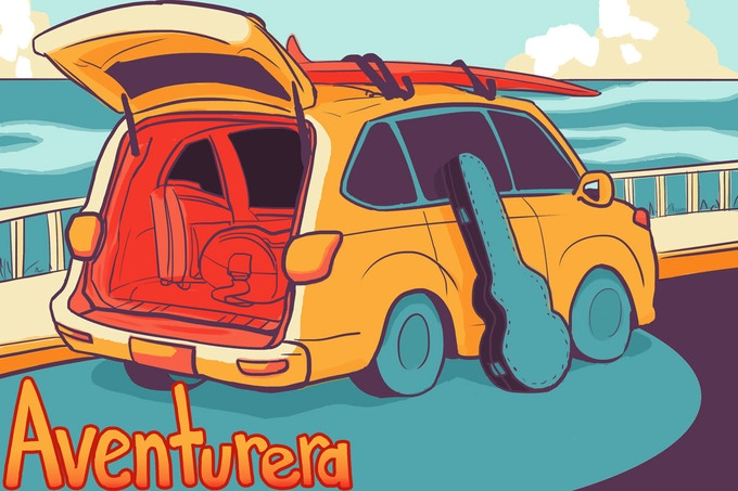 Aventurera Cover