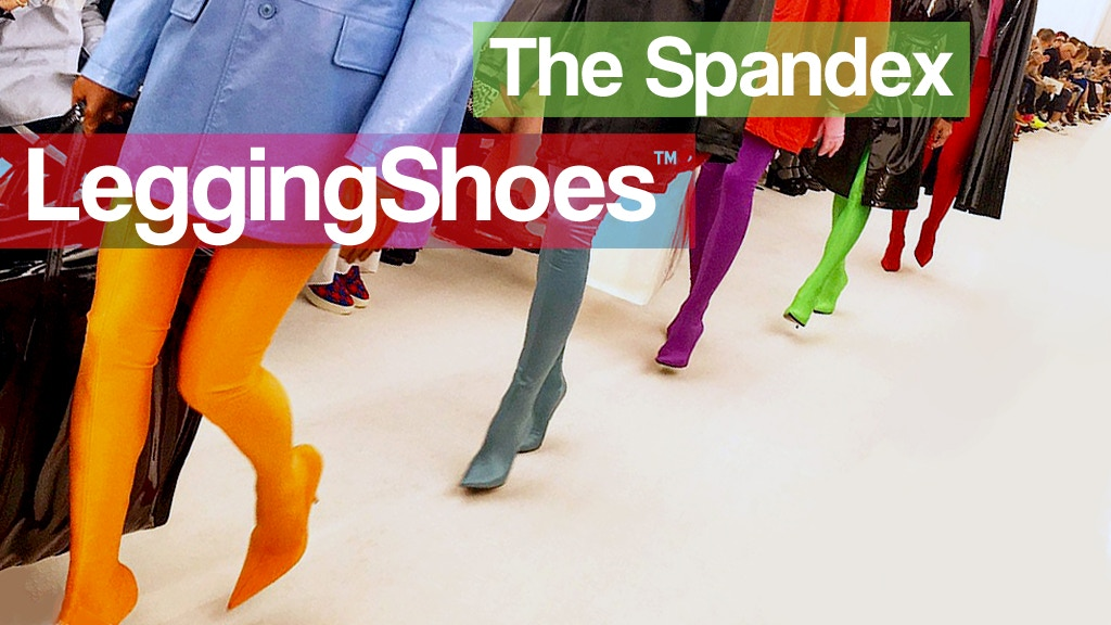 We give you the affordable LeggingShoes™ aka PantaShoes.