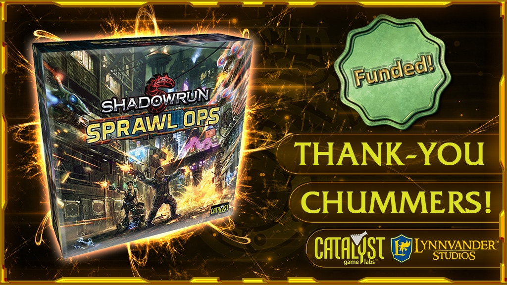 Shadowrun: Sprawl Ops Boardgame project video thumbnail