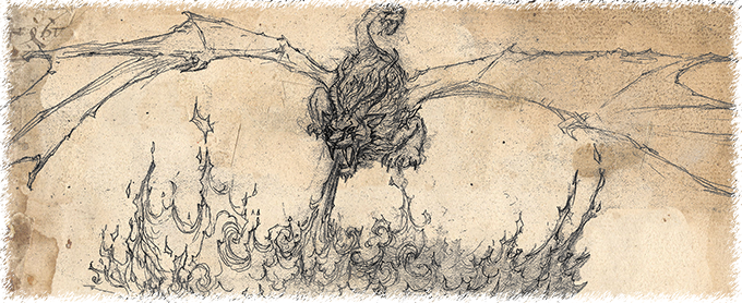 Chimera from the Underworld