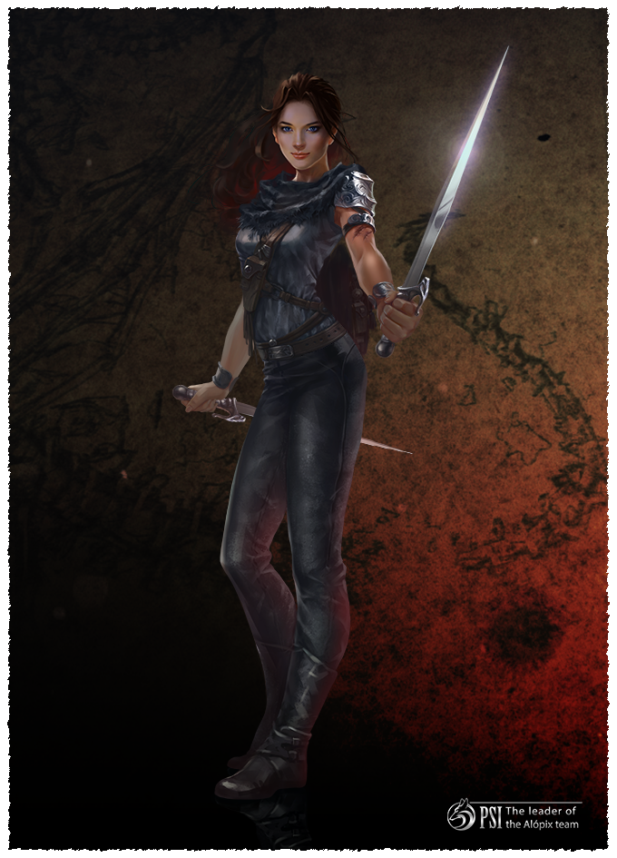 Born into the land of Wrathic Warriors, Psi ascended swiftly through the savage ranks. Her path forged in blood, she now commands the deadliest military team on Balen.