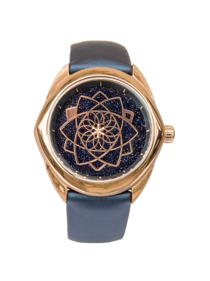 STELLA -  PVD Red-gold - Aventurine Dial - 37mm / Limited Edition of 100 pieces CLICK HERE TO SEE THE VIDEO