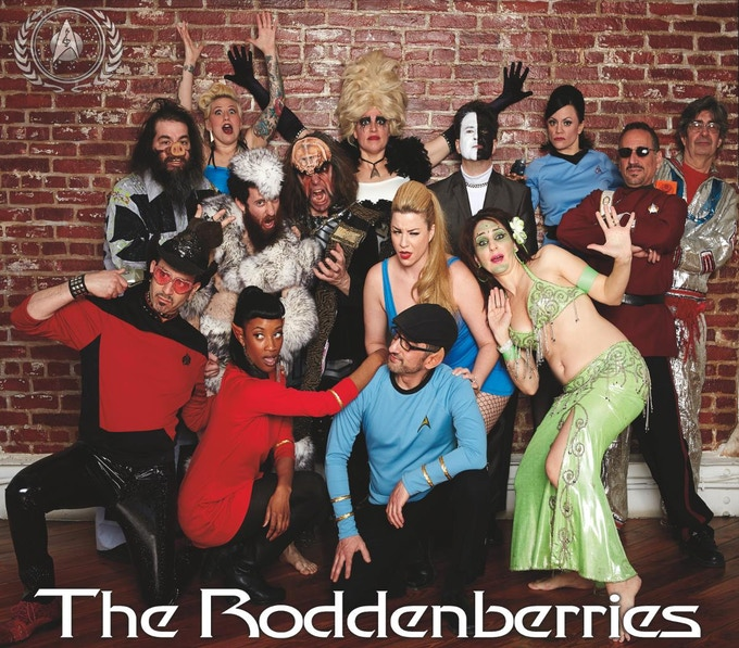 The Roddenberries' self-titled first album