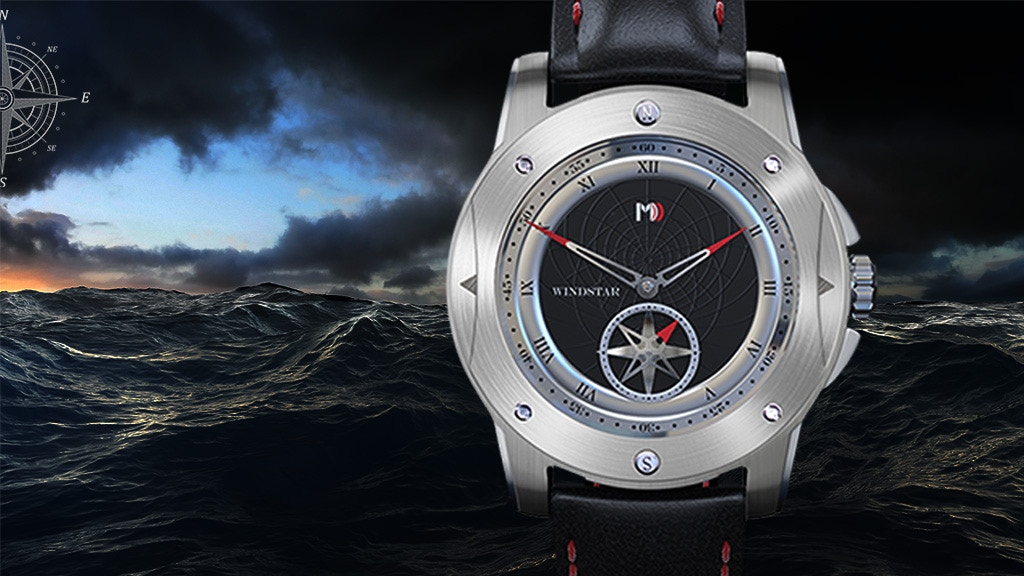 Windstar: Automatic Watches Inspired by Navigation at Sea