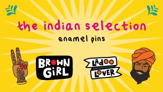 The Indian Selection - Enamel Pins