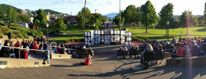 The Emperor of the Moon. Free theater in Maritime Heritage Park
