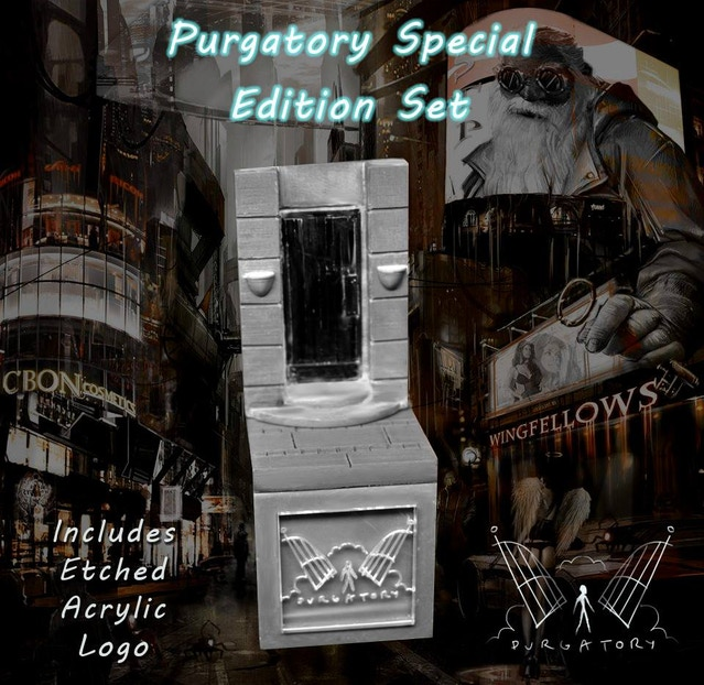 Purgatory Plinth - add for £17.50