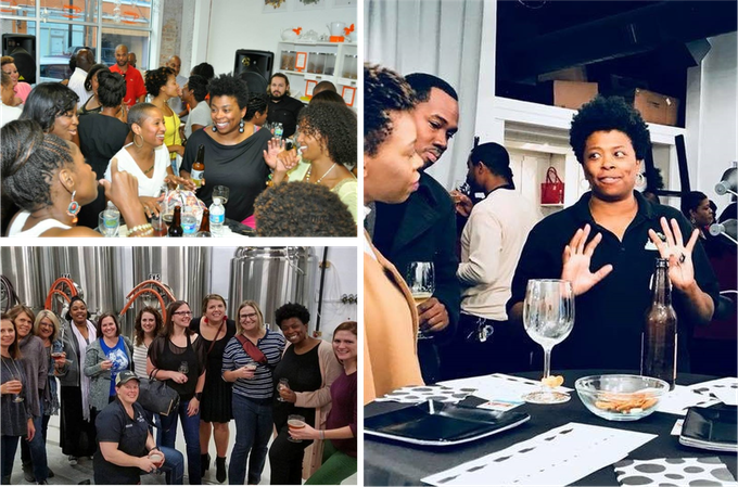 We host events like beer brunches, brewery pop ups and tasting workshops