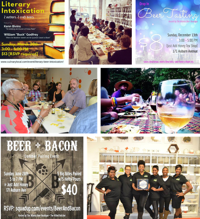 We specialize in creating a unique and interactive environment that makes learning about beer an experience that can be enjoyed by all