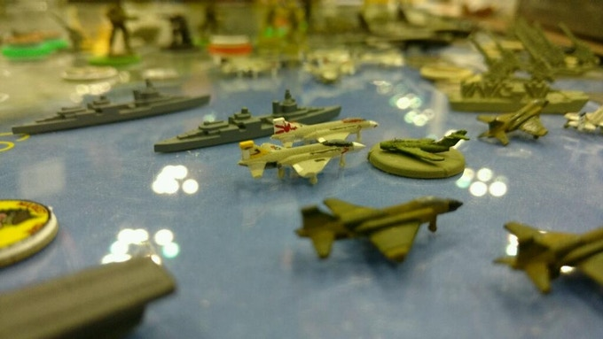 MiGs intercepted off the coast