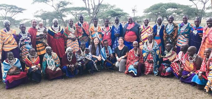 The ALAMA team in Tanzania.