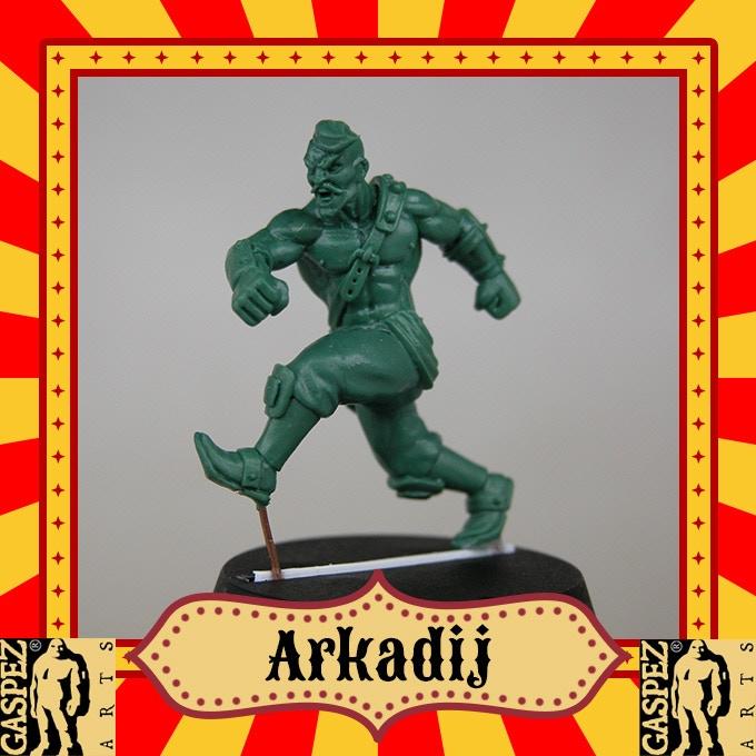 LINEMEN 3: Arkadij