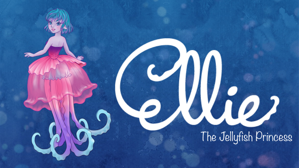 Ellie the Jellyfish Princess by MJ Hsu & UVD Toys project video thumbnail
