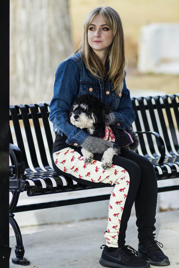 Model/Actress Oakley McMullin in Comfort Cotton - FFox