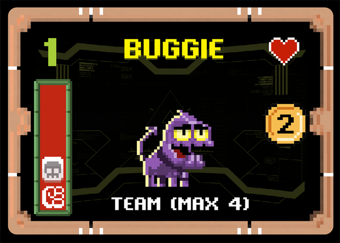Example of BUG Card