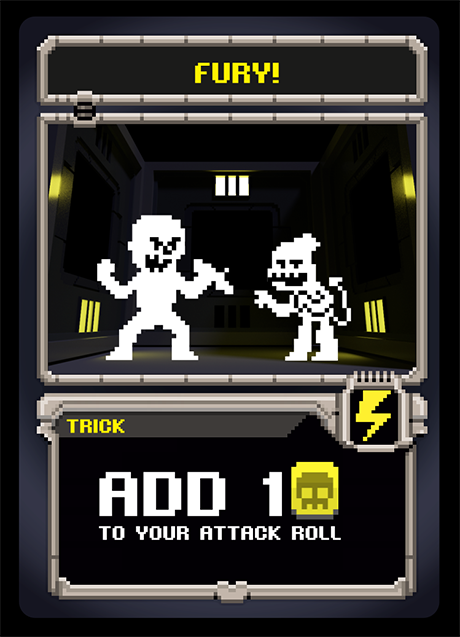 Example of POW! CARD