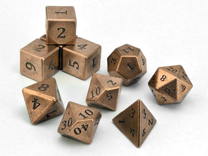 10-die Engraved Set