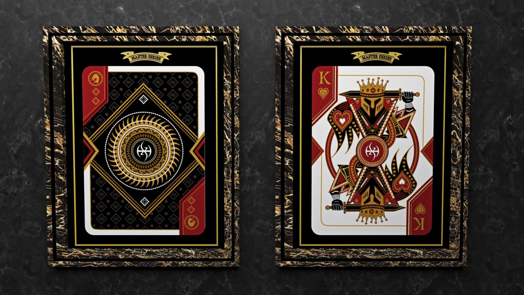 MASTER SERIES - LORDZ BY DE'VO LIMITED EDITION PLAYING CARDS project video thumbnail