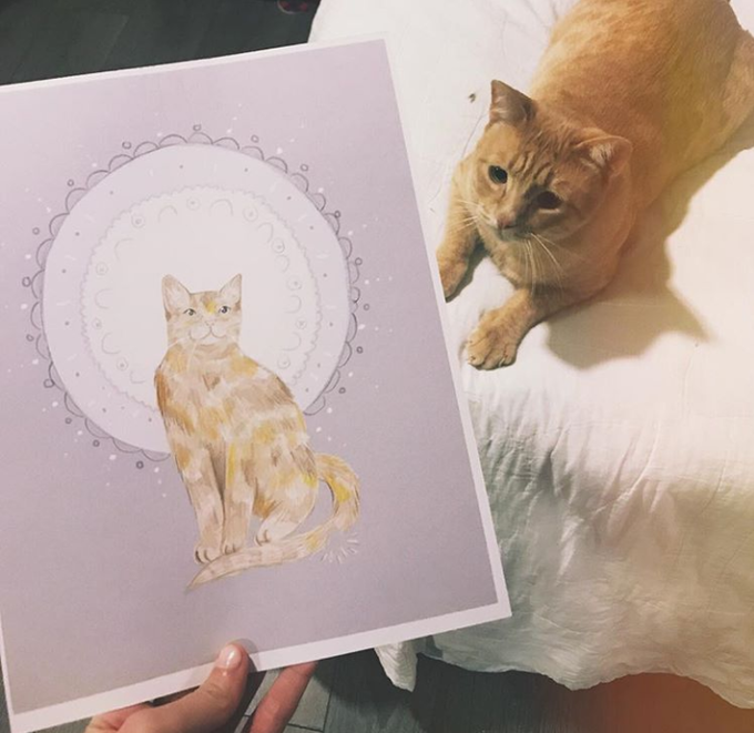 Butters and His Portrait