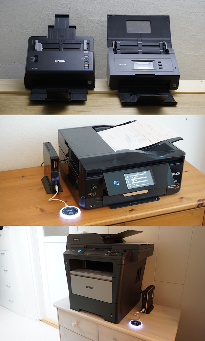 There are multiple options for selecting a document scanner