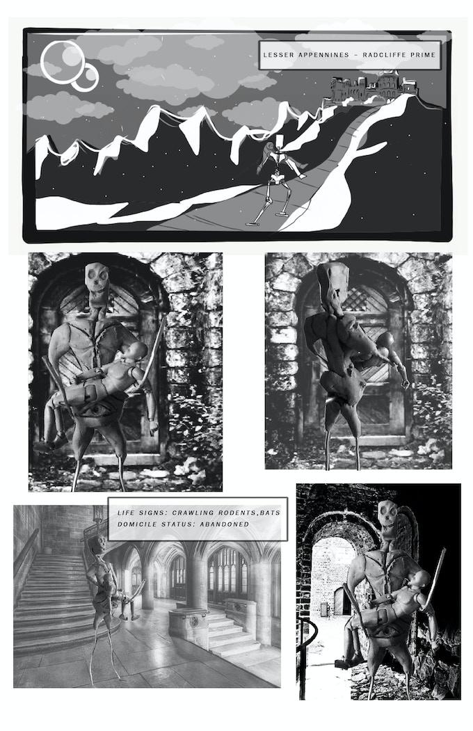 The Oval Portrait by Bill McCormick and Brian Biggerlion Daniel