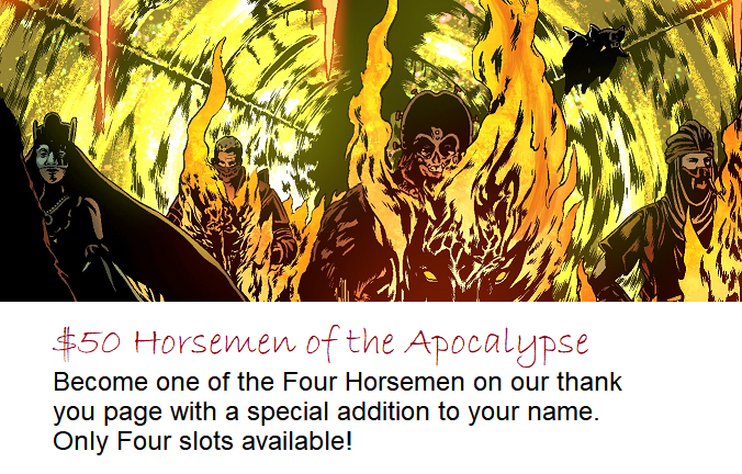 Angels of Hell #1: An Apocalyptic Tale ft  the Four Horsemen by