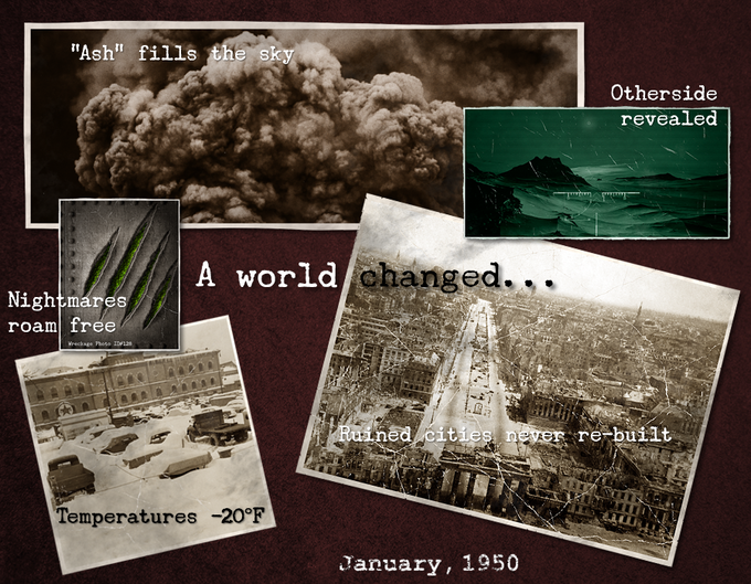 A world changed,,,