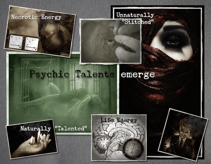 Psychic Talents emerge...