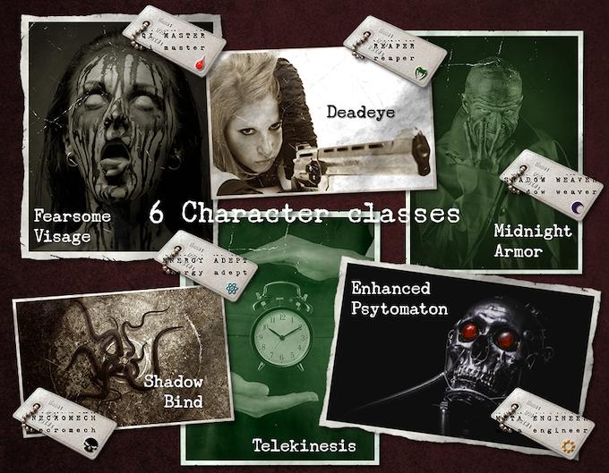 6 Character classes