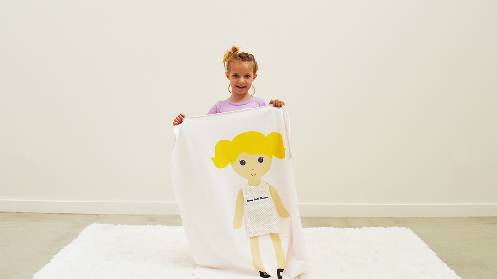 PD Babies: A blanket and paper doll toy in one. project video thumbnail